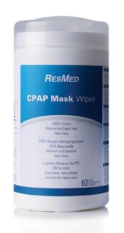 Reinigungstücher für CPAP Masken ResMed (62 Stück)