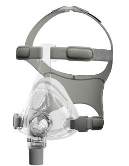 Simplus Full Face Maske Größe M/L (Starter-Pack)